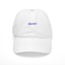 Mauricio, Blue, Aged Baseball Cap