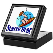 Surfer Dude Keepsake Box