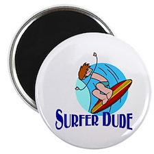 Surfer Dude Magnet