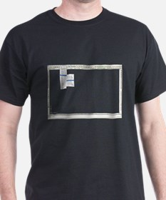 tools 4 Black T-Shirt