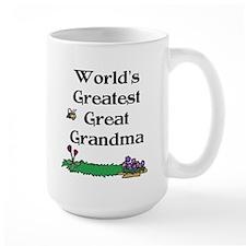 World's Greatest Great Grandm Mug