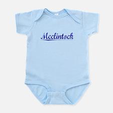 Mcclintock, Blue, Aged Infant Bodysuit