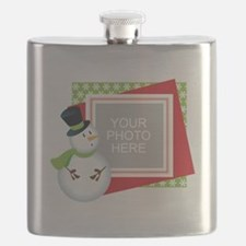 Personalized Christmas Flask