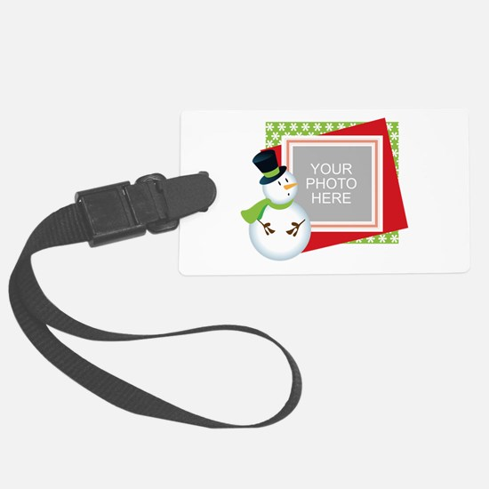 Personalized Christmas Luggage Tag