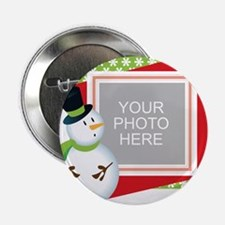 """Personalized Christmas 2.25"""" Button (10 pack)"""