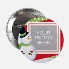 """Personalized Christmas 2.25"""" Button"""