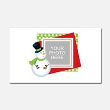 Personalized Christmas Car Magnet 20 x 12