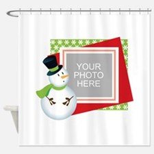 Personalized Christmas Shower Curtain