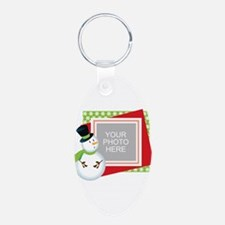 Personalized Christmas Keychains