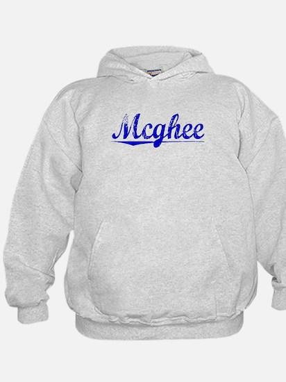 Mcghee, Blue, Aged Hoodie
