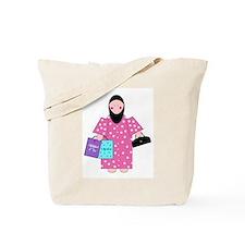 Funny Cute allah Tote Bag
