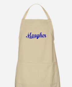 Meagher, Blue, Aged Apron