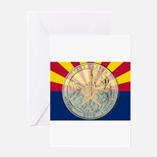 Arizona Quarter 2010 Greeting Card