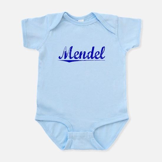 Mendel, Blue, Aged Infant Bodysuit