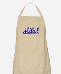 Mikel, Blue, Aged Apron
