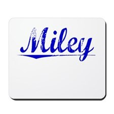 Miley, Blue, Aged Mousepad
