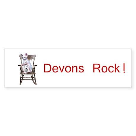Devons Rock Bumper Sticker