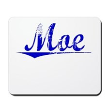 Moe, Blue, Aged Mousepad