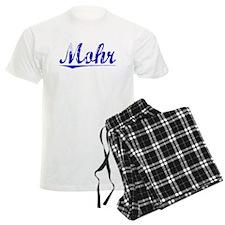 Mohr, Blue, Aged Pajamas