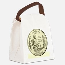 Alabama Quarter 2003 Basic Canvas Lunch Bag