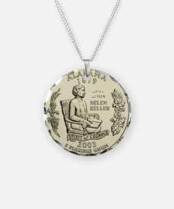 Alabama Quarter 2003 Basic Necklace