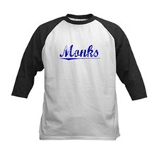 Monks, Blue, Aged Tee