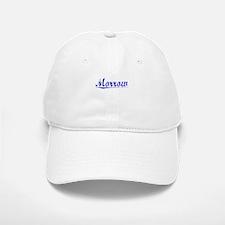 Morrow, Blue, Aged Baseball Baseball Cap