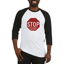 Stop Collaborate and Listen Baseball Jersey