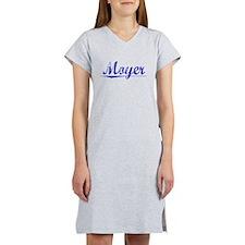 Moyer, Blue, Aged Women's Nightshirt