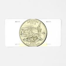 Arizona Quarter 2008 Basic Aluminum License Plate