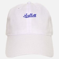 Mullett, Blue, Aged Baseball Baseball Cap