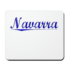 Navarra, Blue, Aged Mousepad