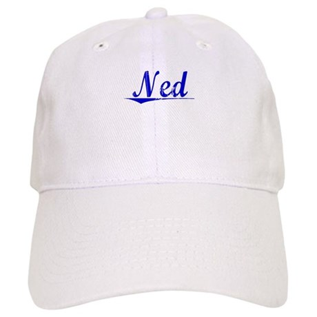 Ned, Blue, Aged Cap