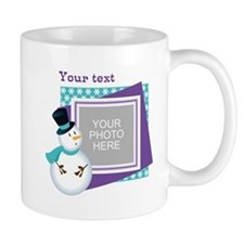Personalized Christmas Snowman Mug