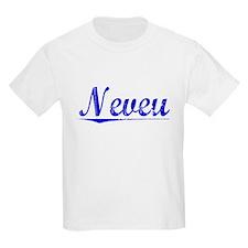 Neveu, Blue, Aged T-Shirt