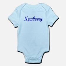 Newberry, Blue, Aged Infant Bodysuit