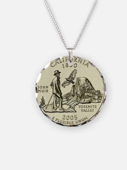 California Quarter 2005 Basic Necklace