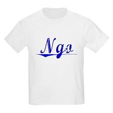 Ngo, Blue, Aged T-Shirt