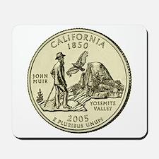 California Quarter 2005 Basic Mousepad