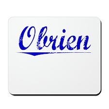 Obrien, Blue, Aged Mousepad