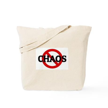 Anti CHAOS Tote Bag