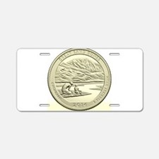 Colorado Quarter 2014 Basic Aluminum License Plate