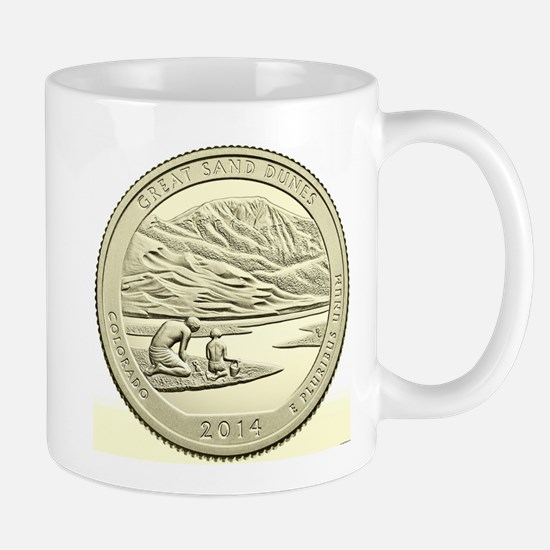 Colorado Quarter 2014 Basic Mug