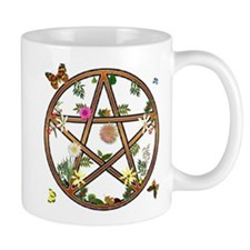 """Living Pentagram"" Mug"