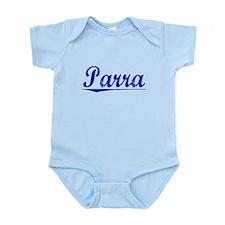 Parra, Blue, Aged Infant Bodysuit