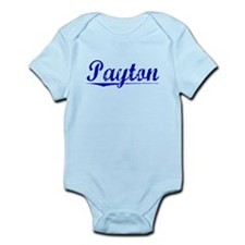 Payton, Blue, Aged Infant Bodysuit