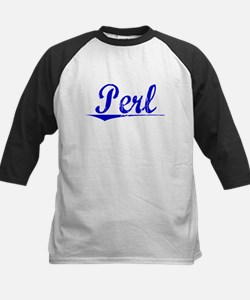 Perl, Blue, Aged Tee
