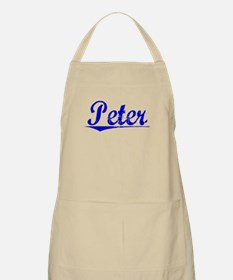 Peter, Blue, Aged Apron