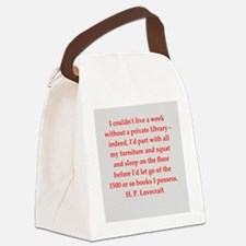 lovecraft5.png Canvas Lunch Bag