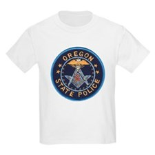 Oregon State Police Mason Kids T-Shirt